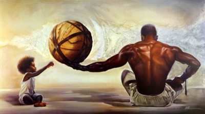 If This World Was Mine By Wak Kevin A Williams 24x36