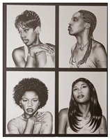 Style Artist Williams A Kevin (WAK)  22x28 Black Art Print Poster African-american