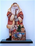 Lynne Andrews Granite State Santa Father Christmas Wood Special