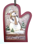 Lynne Andrews Build A Snowman Mitten Pattern Packet