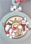 Lynne Andrews Button Choir Ornament Pattern Packet.