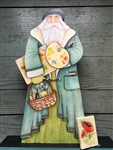 Lynne Andrews The Poppy painter Father Christmas Pattern Packet