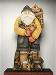 Lynne Andrews German Father Christmas Pattern Packet