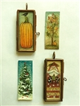 Lynne Andrews Seasonal Locket Pattern Packet.