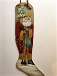 Victorian Father Christmas' Stocking Pattern Packet