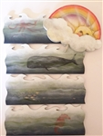 Lynne Andrews Inspirational Ark Series tree rainbow and waves Pattern Packet.