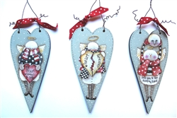 Lynne Andrews Valentines Day Snowies Pattern Packet.