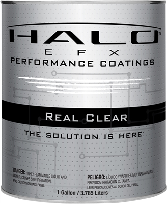 Halo EFX Real Clear