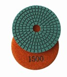 3 inch wet polishing pad, grit 1500
