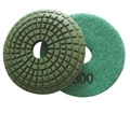 3 inch convex wet polishing pad, 800grit