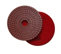 4 inch wet diamond polishing pad,  100 grit