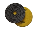 4 inch wet diamond polishing pad,  200 grit