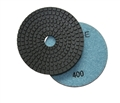 4 inch wet diamond polishing pad,  400 grit
