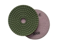 4 inch wet diamond polishing pad,  3000 grit