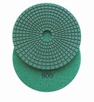 "5"" Wet Diamond Polishing Pad, 800 grit"
