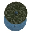 7 inch wet polishing pad, grit 400