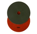 7 inch wet polishing pad, grit 1500