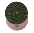 7 inch wet polishing pad, grit 3000