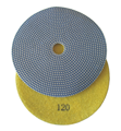 5 inch Electroplated Polishing Pad, 120 grit