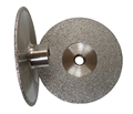 5 inch Vacuum Brazed Cup Wheel, Coarse, 5/8 inch -11