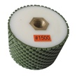 "3"" x 2"" Resin Bond Drum Wheel 1500 Grit, 5/8"" -11, Wet Use"