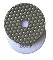 "4"" Premium Dry Polishing Pad, White Buff"