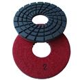 "5"" Concrete terrazzo diamond polishing pads, step 2"