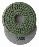 3.5 inch x 7mm Diamond Floor Disc, 3500 grit, Wet Use