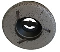 4 inch Diamond Shaping Wheel, Coarse, Step 1