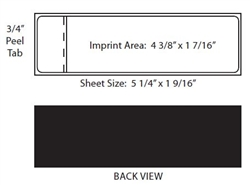 Neopost Self-Adhesive Single Strip Postage Label (pack of 1200)