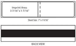 Neopost Double Strip Postage Label (pack of 300)