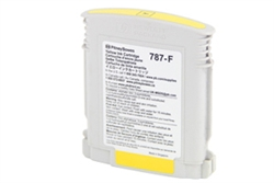 Replaces Pitney Bowes 787-F Yellow Ink Cartridge