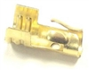 Brass Distributor Coil or Spark Plug Terminals Snap-lock connectors.