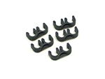 T25 -8mm Black Spark Plug Wire Separators- 2wires