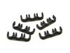 T26 -8mm Black Spark Plug Wire Separators- 3wires