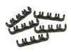 T27 -8mm Black Spark Plug Wire Separators- 4wires