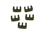 T28 -7mm Black Spark Plug Wire Separators- 2wires