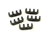 T29 -7mm Black Spark Plug Wire Separators- 3wires