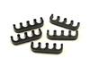 T30 -7mm Black Spark Plug Wire Separators- 4wires