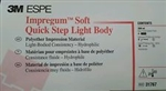 3M ESPE Impregum Soft Quick Step Light Body 4 Cartridges Tips Dental Impression