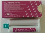 GC Reline Soft Chairside Denture Liner PVS Cartridge 62g (48ml) Japan Dental