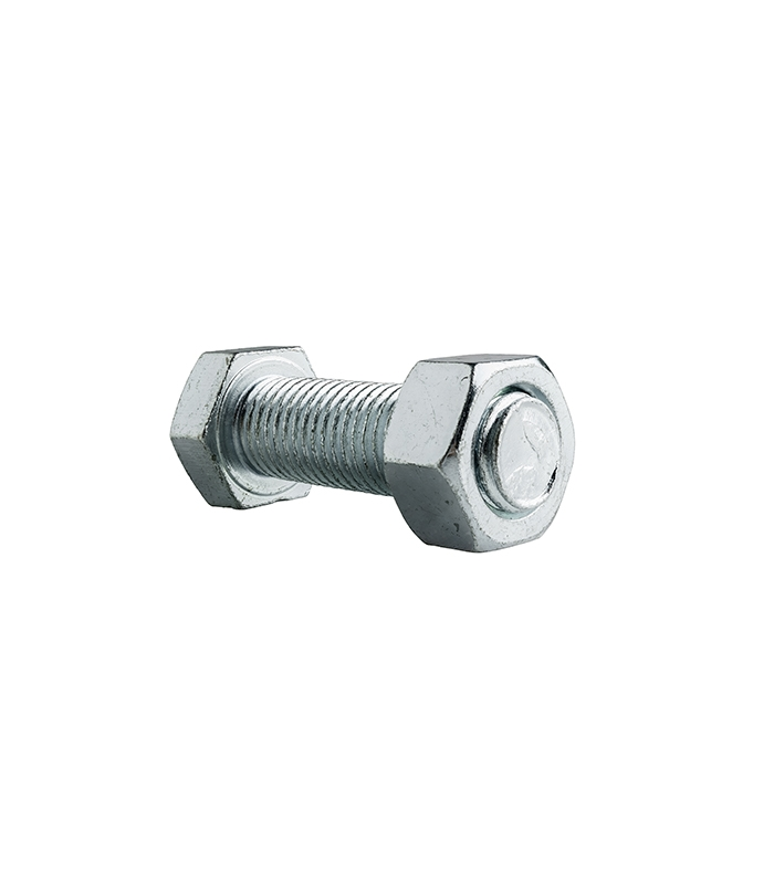 1/4-20 Carriage Bolts with Nuts