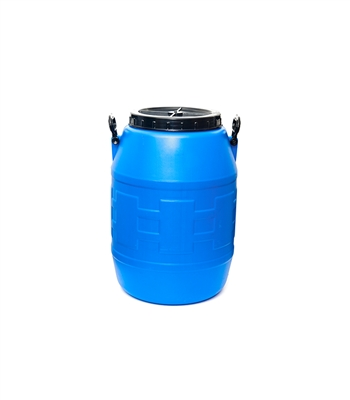 55 Gal. Blue Plastic Drum
