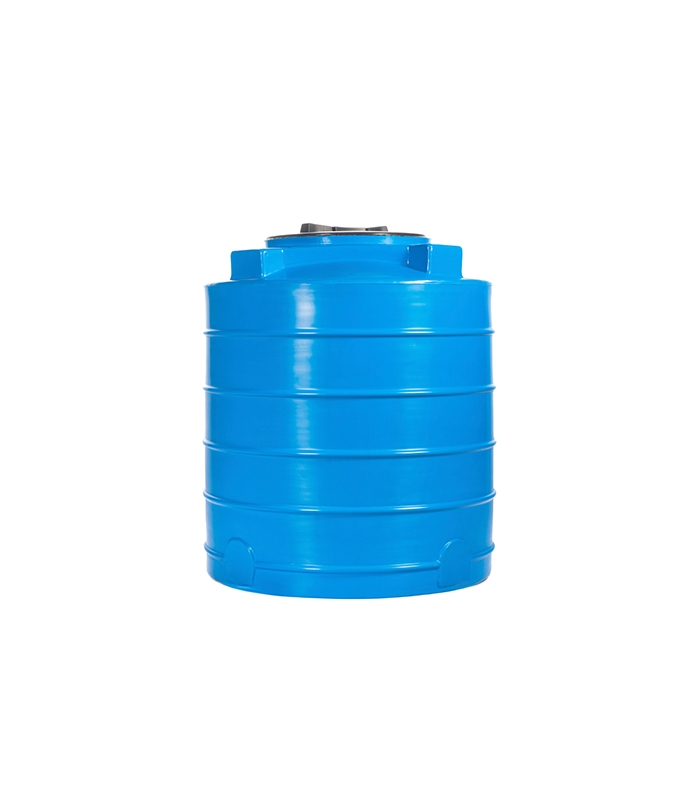 35 Gal. Blue Plastic Drum