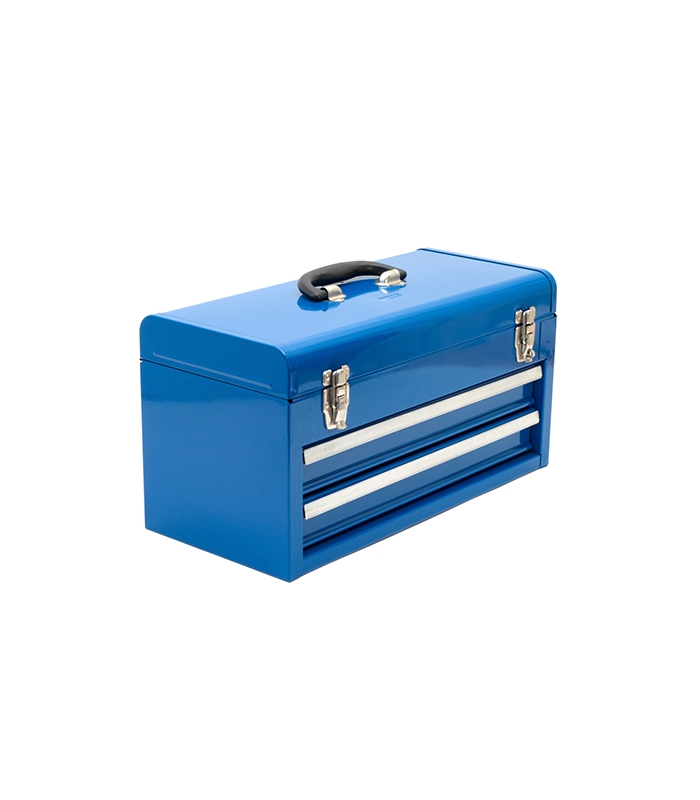20.2 in. 3-Drawer Portable Tool Box with Tray