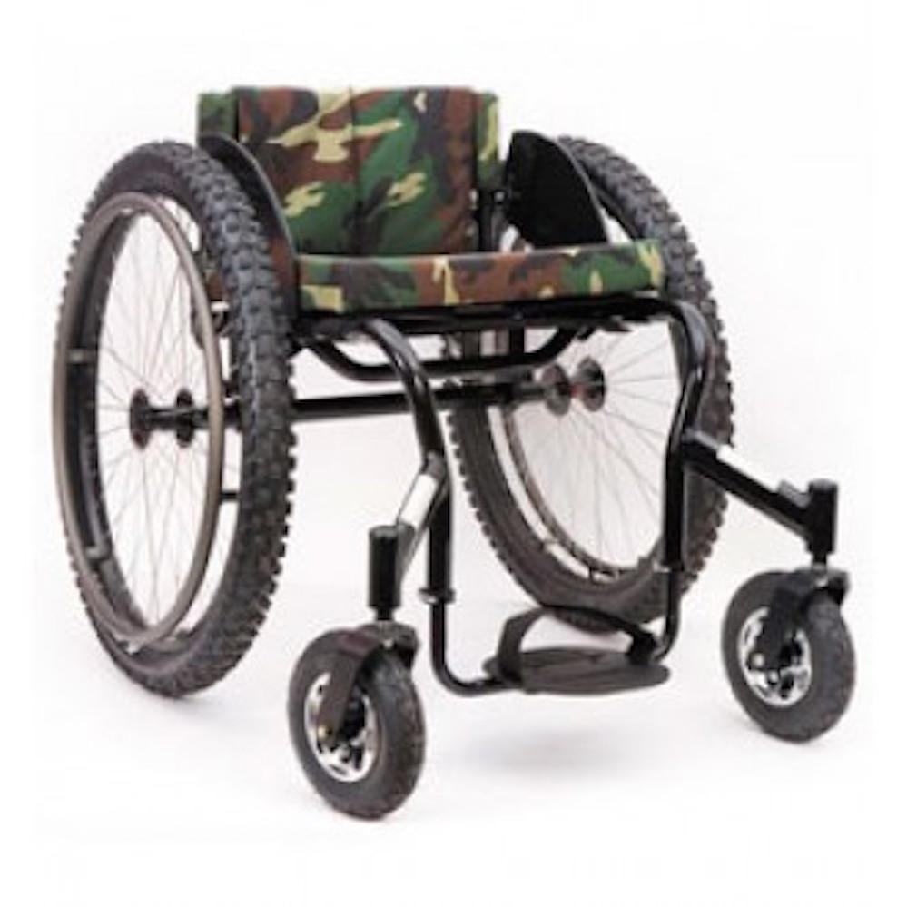 Invacare top end crossfire all terrain wheelchair for All terrain motorized wheelchairs
