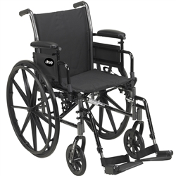 Drive Medical Cruiser III Lightweight Wheelchair