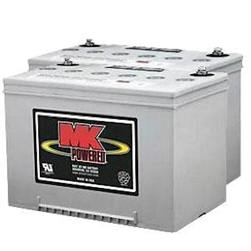 MK - 12V 60 AH Sealed Gel (2) Batteries