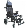 Karman Healthcare V-Seat Ultimate Luxury Reclining Wheelchair
