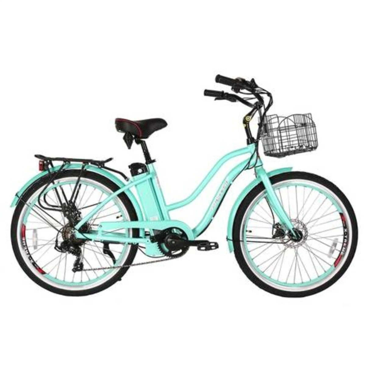 x treme malibu beach cruiser electric bicycle. Black Bedroom Furniture Sets. Home Design Ideas